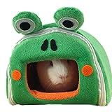 ZuckerTi interessant Haustier Käfige Hütten Höhlen Hängematte Spielzeug Hütte für Kleintiere Eichhörnchen Chinchilla Meerschweinchen Ratte Mäuse Hamster Hase Kanichen kleine Tiere