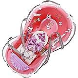 Supreme–Set de regalo baño 84cm con accesorios, diseño de cebra, color rosa