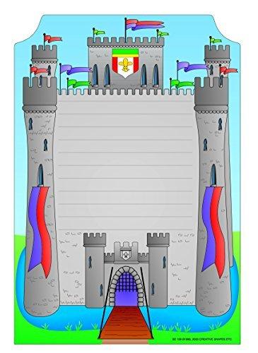 Castle Mini Notepad by Creative Shapes Etc. (Creative Castle)