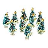 Homyl Mini Weihnachtsbaum Künstlicher Weihnachtsbaum Christbaum Tannenbaum künstliche Tanne - Farbe 2, 130 x 80 x 80 mm