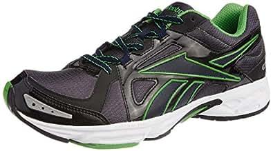 Reebok Men's Dynamic Fusion Lp Navy, Green, Black and White Mesh Running Shoes - 11 UK
