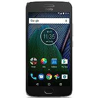 Motorola- Moto G5 Plus Smartphone débloqué 4G (Ecran: 5,2 pouces - 32 Go - Nano-SIM - Android 7.0 Nougat) Gris
