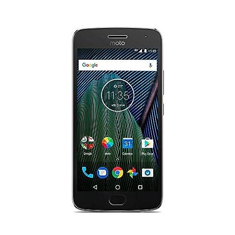 Motorola- Moto G5 Plus Smartphone débloqué 4G (Ecran: 5,2 pouces