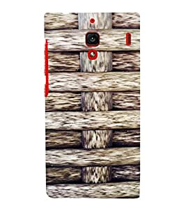 PrintVisa Knitted Ropes Pattern 3D Hard Polycarbonate Designer Back Case Cover for Xiaomi Redmi 1S
