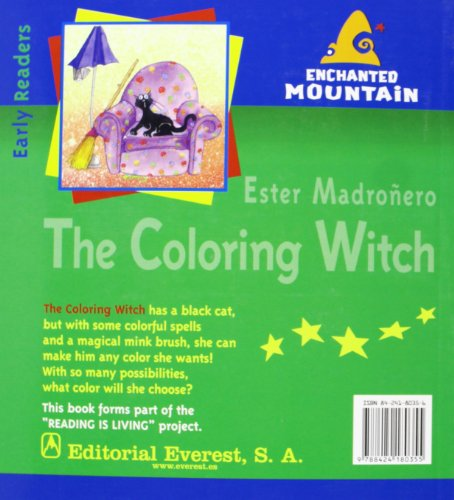 The Coloring Witch (Montaña encantada/Idiomas)
