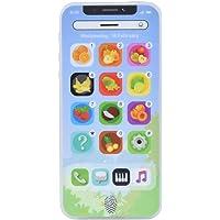 Fenteer Giocattolo Telefono Cellulare Walkie Accessori per La Casa delle Bambole Realistiche,Regalo di Compleanno per Bambini Rosa