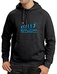 N4086H sudadera con capucha Evolution Volleyball gift