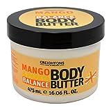 Creightons ingredienti burro per il corpo, 475ml, mango e papaya