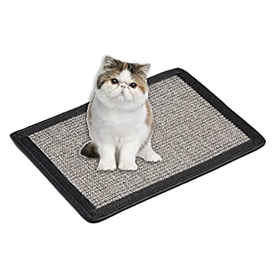 Cat Scratch Board Furniture Pet Cat Kitten Scratch Pad Mat Table Chair Sofa Legs Mat Sisal Table Chair Sofa Legs Protector Automatic Bonding No Need Straps Bed Mattess Protector from Somedays