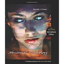 Abnormal Psychology by Ronald J. Comer (2012-02-01)