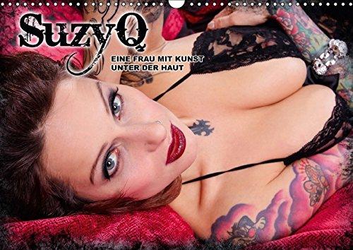 SuzyQ - Eine Frau mit Kunst unter der HautAT-Version (Wandkalender 2017 DIN A3 quer): Exklusiver erotischer Monatskalender von SuzyQ (Monatskalender, 14 Seiten) por Markus Isack
