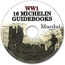 16 Vintage Michelin Guides to the Battlefields WW1 WWI World War 1 The Great War PDF e-Book on CD