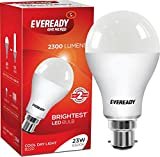 #8: Eveready Base B22 23-Watt LED Bulb (Pack of 3, Cool Day Light)