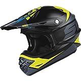 Scott 350 Pro Podium MX Enduro Motorrad / Bike Helm schwarz/grün 2015: Größe: XL (61-62cm)