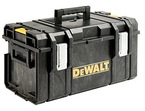DeWALT MaletínDS300(1-70-322)  Clips laterales de plástico de ingeniería permite la capacidad de apilamiento con otras cajas Al llevar las cajas de herramientas a mano, sino que también se pueden fijar juntos, lo que les permite ser transportados c...