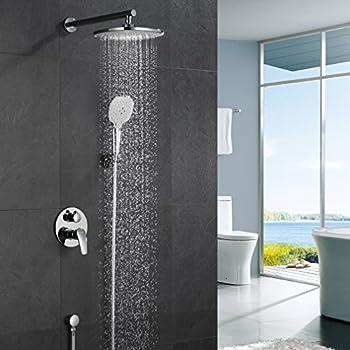 ubeegol duschsystem unterputz duscharmatur regendusche rainshower ... - Regendusche Unterputz