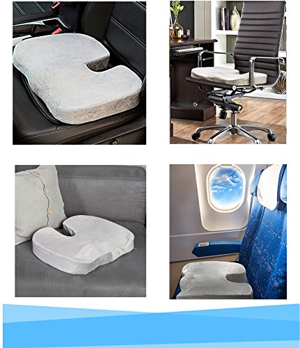 cuscino ortopedico per sedia ufficio sedile auto e