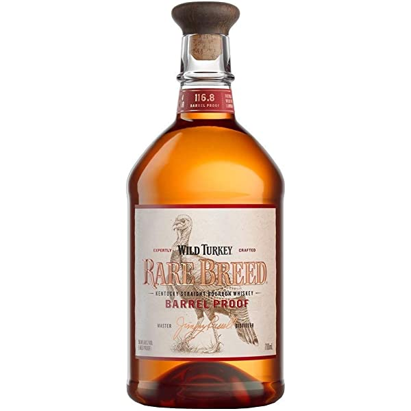 Bourbon whiskey americano wild turkey rare breed kentucky 70 cl 426483