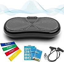 Bluefin Fitness Ultra Slim Power Vibrationsplatte | Fett verlieren und Fitnesstraining von Zuause | 5 Trainingsprogramme...