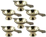Best RoyaltyLane Lampes de table - Ensemble de lampe à huile 6 en laiton Review