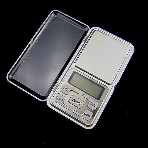 portatile 500g/0.1g Mini Bilancia Digitale Gioielli tasca equilibrio Peso