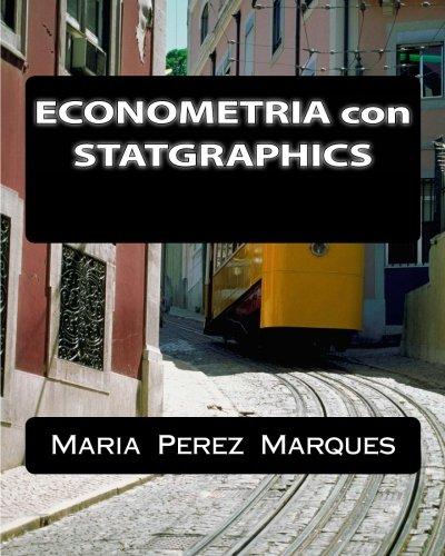 ECONOMETRIA con STATGRAPHICS