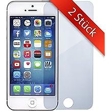 2 STÜCK - iPhone-4 Schutzfolie Panzerglas - | 0.2mm | Blasenfrei | Full HD Transparenz | Anti Fingerabdruck - Apple iPhone 4 Displayschutzfolie Panzer-Glas – MOVOJA iPhone4