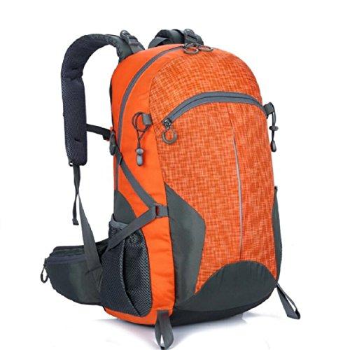 Z&N 40-50L GroßE KapazitäT Hochwertige Nylon Outdoor Sporttasche Bergsteigen Rucksack Studenten Tasche Mehrzweck Reiten Urlaub Camping GepäCk TäGlicher Gebrauch E
