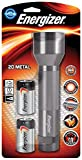 Energizer Metal LED Torch (Batteries Included)