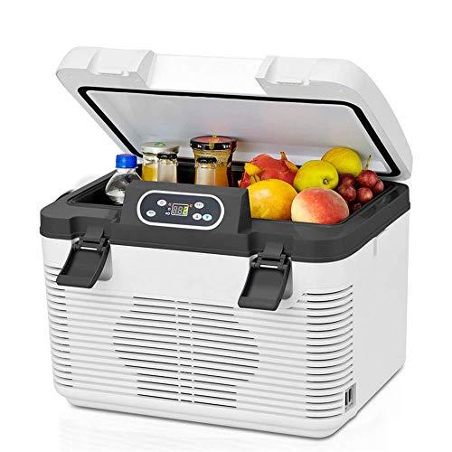 WMG& Minifrigo Portatile, 2-8 Gradi 19 Litri con termostato Digitale + Auto...