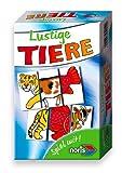 Noris Spiele 606094212 - Lustige Tiere