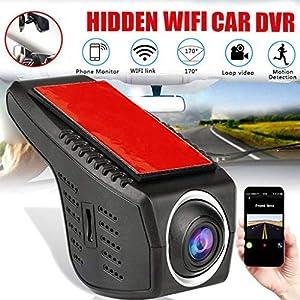 Dkings Neue Mini Full HD 1080 P Autofahren Recorder WiFi Dash Cam USB Auto Monitor Auto Kamera Versteckte 170 Grad Weitwinkel Driving Recorder