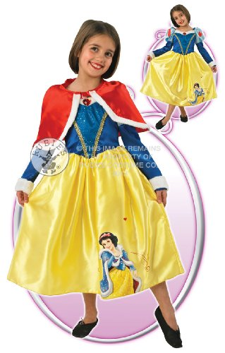 eiß Kostüm & Cape Disney Outfit 3–4 Yrs (Die Sieben Zwerge Fancy Dress Kostüme)