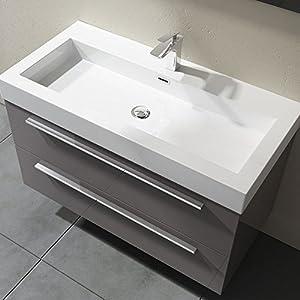 Waschbecken Mit Unterschrank 100 Cm Breit Günstig Online Kaufen