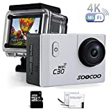 Best Action Cameras - Sports Camera, SOOCOO C30 Action Camera 4K 20MP Review