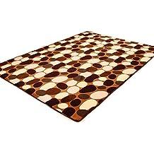 """Beverly de piedra colorida de alfombra y alfombras para el dormitorio salón hogar decoración alfombra con flores, café, 50cm×80cm(19.6""""×31"""")"""