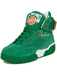 Patrick Ewing - Zapatillas de baloncesto de cuero sintético para hombre