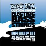 Ernie Ball Flatwound 2806 Bass Set Group...