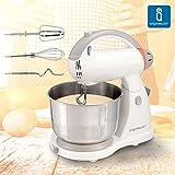 Aigostar Sourdough 30HLZ - Robot de cocina de uso manual: Mezcladora, Amasadora, Batidora. Libre de BPA.