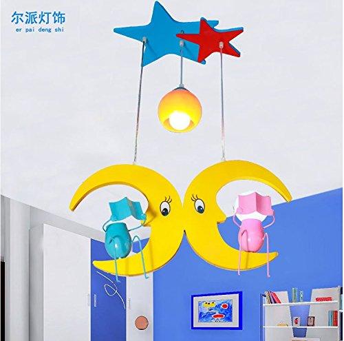dolsuml-cool-design-plafoniere-lamparas-de-techo-ninos-colores-modo-del-comic-luna-casa-nina-princes