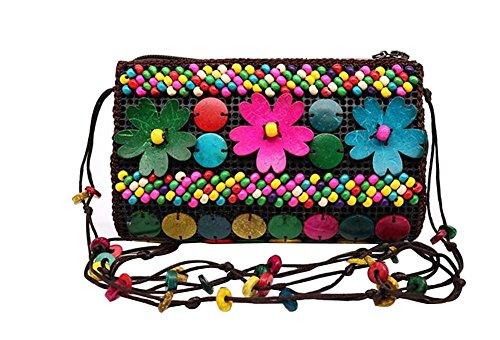 Country Style Bohemia Ladies Mini Crossover Sacs à bandoulière Sacs à main