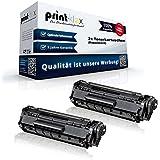 2x alternativa Cartuchos para Canon Fax L100Fax L120Fax L140Fax L160Fax L95Fax l95N FX10FX 10XXL BLACK Negro Doble pack–Color Pro Serie