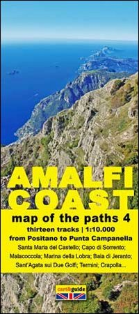 Map of the paths of the Amalfi coast. Scale 1:10.000: 4 (Cart&guide) por Gabriele Cavaliere