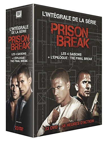 Coffret prison break : saison 1 a 4 ; final break [Edizione: Francia]