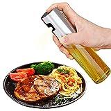 Spruzzatore di olio d'oliva Dispensatore d'olio Trigger d'olio Bottiglia d'aceto spray per barbecue, cottura e produzione di strumenti per la stagionatura degli utensili da cucina (Glasses)