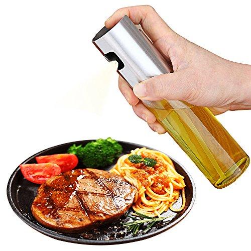 Dispensador de aceite de aceite de oliva Dispensador de aceite Dispensador de aceite Botella de spray de vinagre para barbacoa, cocinar y hacer aderezo de ensalada Herramientas de cocina (Glasses)