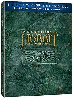 El Hobbit: La Desolación De Smaug - Edición Extendida (BD 3D + BD + Copia Digital) [Blu-ray] (B00NAZ2HJ4) | Amazon price tracker / tracking, Amazon price history charts, Amazon price watches, Amazon price drop alerts