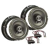tomzz Audio ® 4057-001 Lautsprecher Einbau-Set für VW Golf IV Passat 3BG Polo 9N 6R Beetle 9C Fronttür 165mm