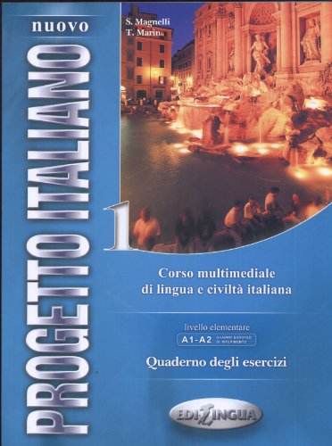 Nuovo progetto italiano 1 : Quaderno degli esercizi livello elementare