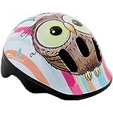 Niños Niños Niños Niñas ciclo seguridad casco bicicleta patinar 49–56cm), diseño de lechuza, Owl